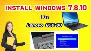 Force Format Lenovo G40-30