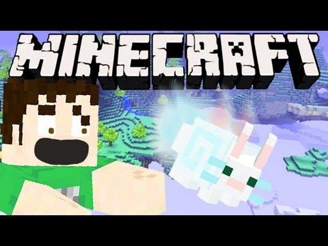 Minecraft - FLOATING BUNNY SUICIDE