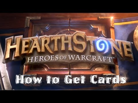 Hearthstone: How to Get Cards