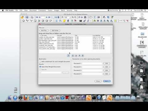 Convert / Merge Files to PDF - PDF Studio Pro - Mac, Windows, Linux