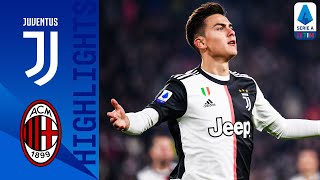 Juventus 1-0 Milan | Paulo Dybala Scores after CR7's Substitution! | Serie A