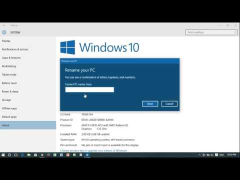 Change Your Computer Name In Windows 10