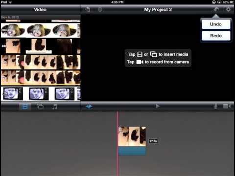 iPad: iMovie - Clip Editing 101