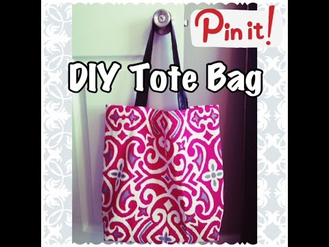 DIY Tote Bag | Sewing Project for Beginners