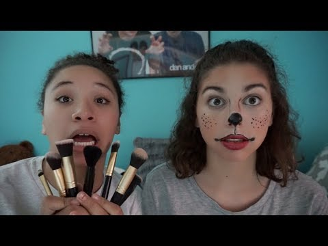 Gianna Does My Makeup!