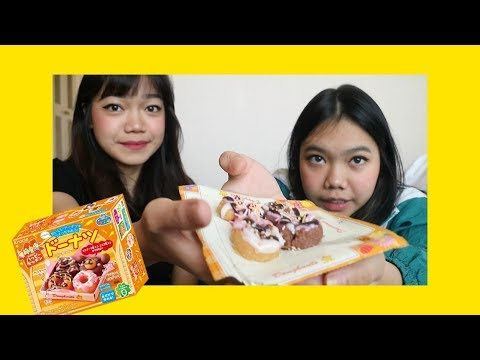 MAKING MINI DONUTS! - Popin Cookin
