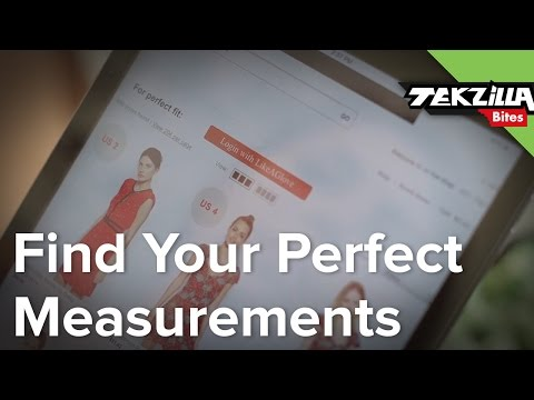 Find Your Measurements Just By Trying Something On!