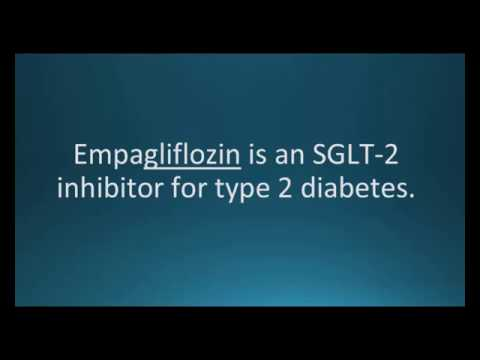 How to pronounce empagliflozin (Jardiance) (Memorizing Pharmacology Video Flashcard)