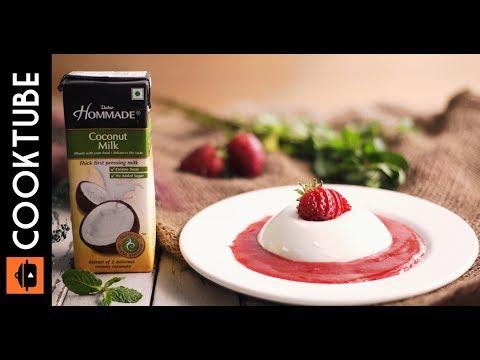 Homemade Coconut Milk Panna Cotta | Italian Dessert Recipes