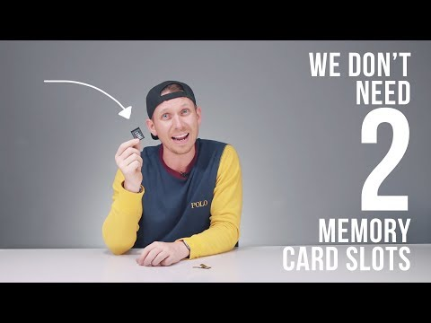 You DON'T need DUAL MEMORY CARDS to be a PRO!