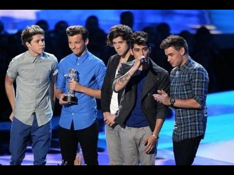 Wow! One Direction wins Artist Of The Year winner American music awards 2014