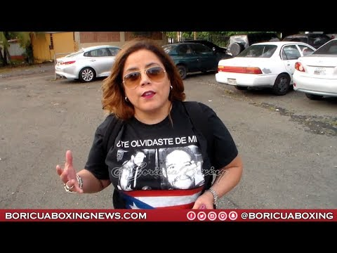 Boxing Promoter Mercedes Vazquez Supports the WILFRED BENITEZ Movement - You Should Too!
