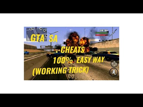How to install cheats in GTA SA Android (No root)?