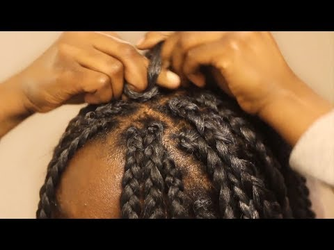 VERY DETAILED Box Braids Tutorial for beginners: Fast Crochet Method, QUICK! How To On Yourself