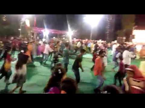 Gujrati Garba dance  in full night enjoyment in Navrati