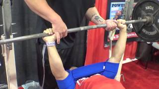Trying The Sling Shot Out Bench Pressing Olympia Expo