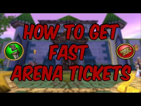 Wizard101: How to get Arena Tickets Fast!!!