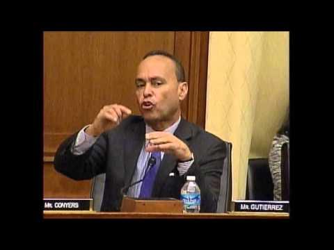 Rep Gutiérrez Q&A with USCIS Director at Judiciary Hearing