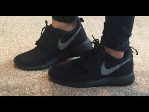 Nike Roshe black grey trainers women / men / juniour QUICK 1 Min Review!