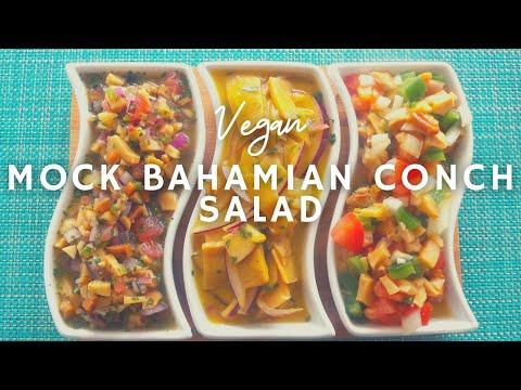 Easy Mock Conch Salad | How to make Vegan Conch Salad | Korenn Rachelle