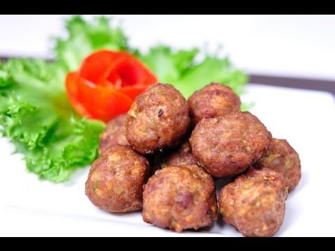 [Thai Food] Fried Pork Ball (Mu Pan Thod)
