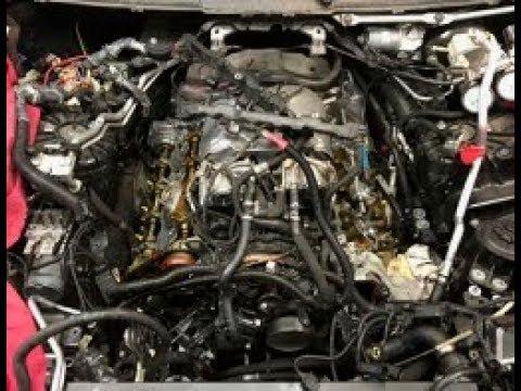 BMW N63 engine valve stem seals replacement