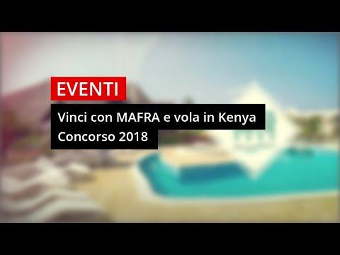 Vinci Con Mafra e vola in Kenya