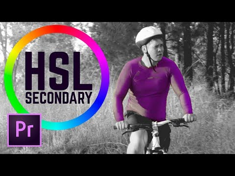 Change and Correct Specific Colors with HSL Secondary - Premiere Pro Tutorial