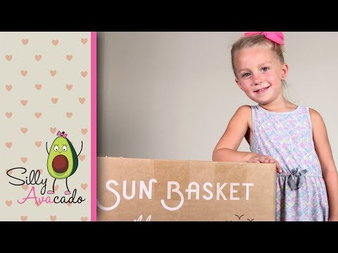 Do Kids Like Sun Basket? 💜 Sun Basket Unboxing & Review 💜 3rd Meal Delivery Kit Review!