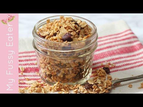 How To Make Microwave Granola | 5 Minute Granola Recipe