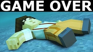All Game Over Scenes Minecraft Story Mode Season 2 Episode 2