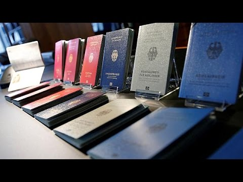 Germany unveils new passport design
