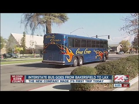Interstate Bus starts trips from Bakersfield to LAX