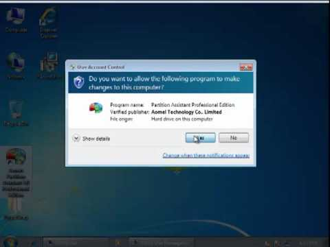 solve low disk space in Windows 7 and Increase your C drive with free Space from D