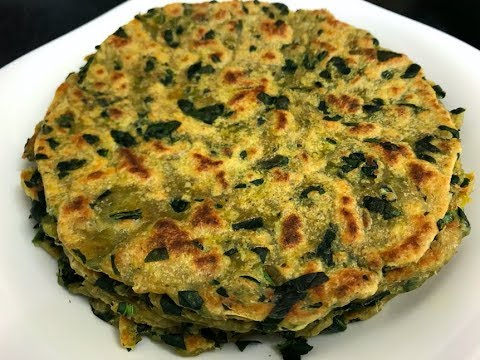 Gujarati Indian snack Recipe - Thepla