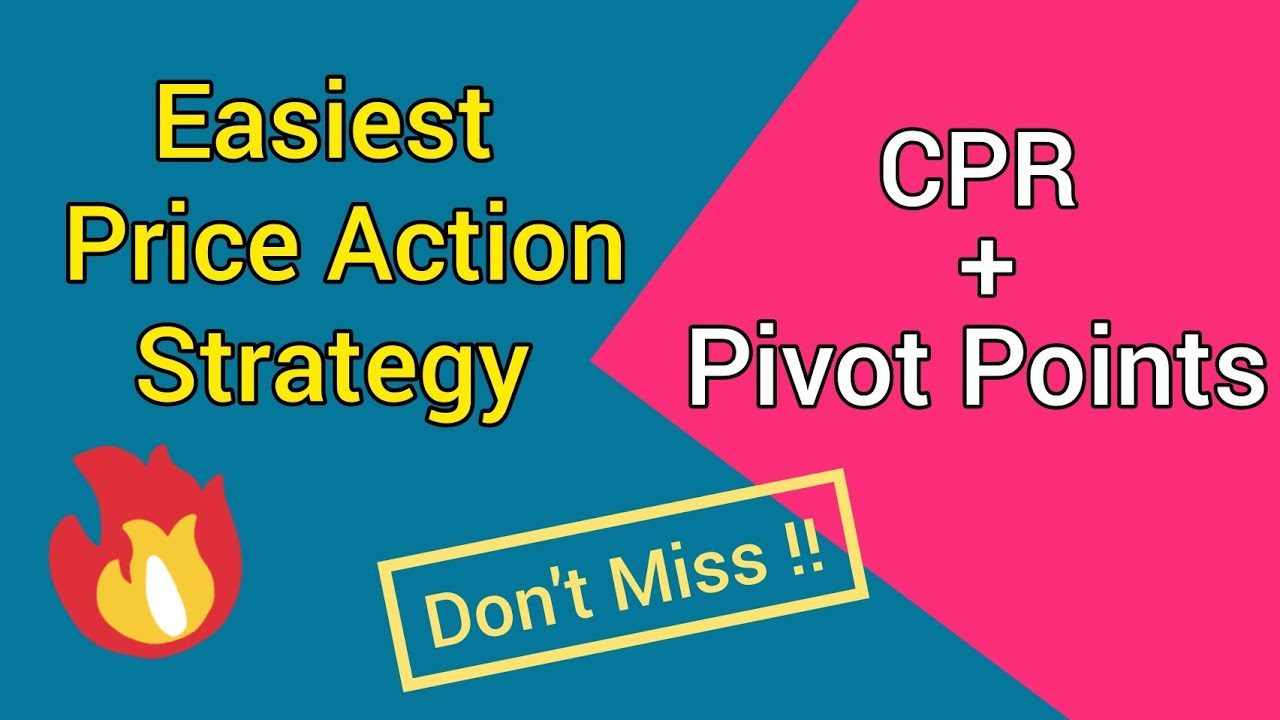 Central Pivot Range Strategy 💥 Price Action Trading Strategy | CPR Strategy | Pivot Point Strategy