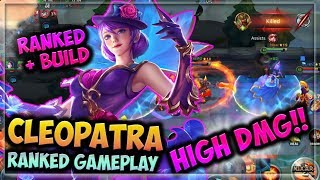 Download 🌸 CHILLING WITH CLEO~ | HEROES EVOLVED - CLEOPATRA BUILD | PETAL PRINCESS SKIN | RANKED GAMEPLAY Video