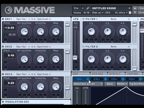 Swedish House Mafia - One Uprising Buildup synth in FL / Massive