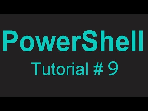PowerShell 09 - Creating your first PowerShell profile from scratch