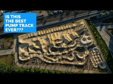 IS THIS THE BEST PUMP TRACK EVER?