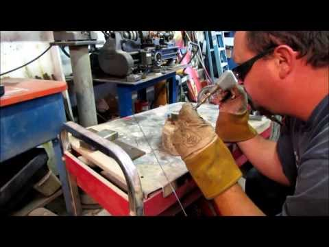 Gas Welding  stainless steel Part 2
