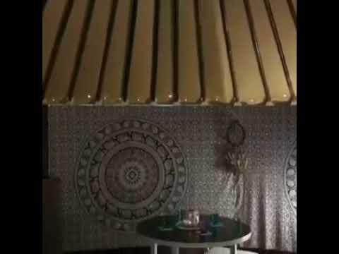 Yurts Australia suburban home office interior