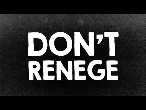 Don't Renege - BYU Career Services