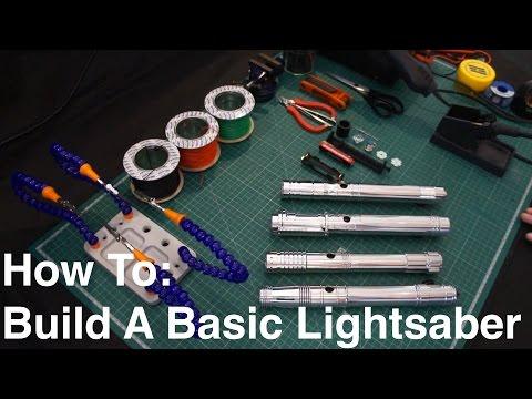 DIY Tutorial: How To Build A Basic Custom KRS Kit Stunt Lightsaber