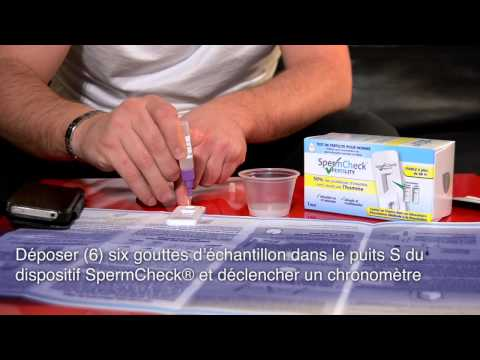 SpermCheck Autotest Fertilite
