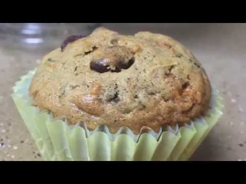 Zucchini and Carrot Muffins- Chocolate chips