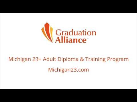 Graduation Alliance Michigan 23+ Student Testimonial - Michelle