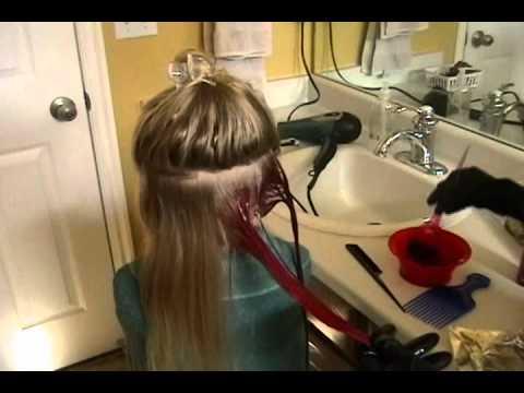 FUN HAIR COLORING 🎨 SEMI PERMANENT COLOR!!