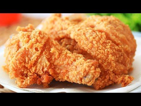 ★ Spicy KFC Fried Chicken   How to make KFC Chicken at home   Chicken Recipes @ Guru's Cooking