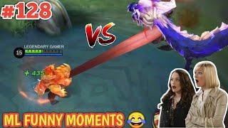 WTF Mobile Legends Funny Moments Episode 128 | Barats Tongue vs Yu Zhong Dragon 😂😂😂